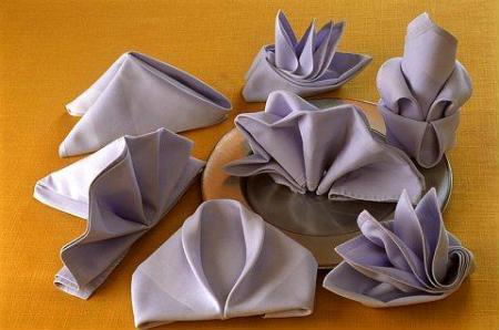 Como dobrar guardanapos