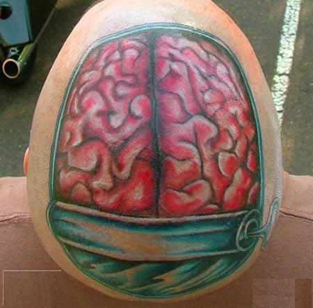 incríveis tatuagens anatômicas