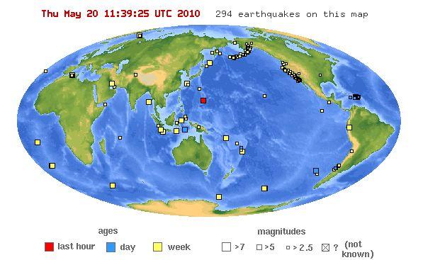 terremotos (earthquakes)