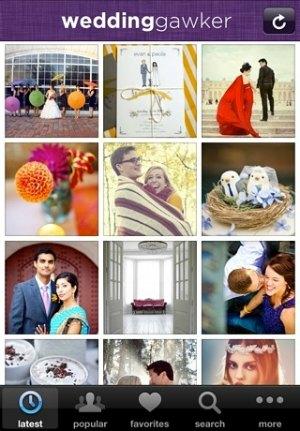 weddinggawker app