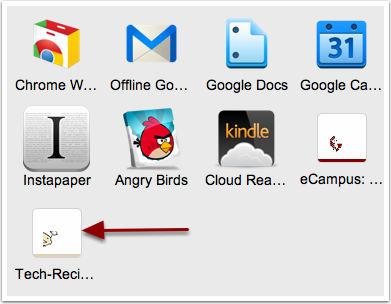 seu site no Google Chrome