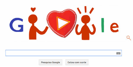 Valentine's Day do Google