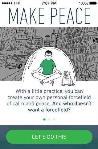 Medite e relaxe