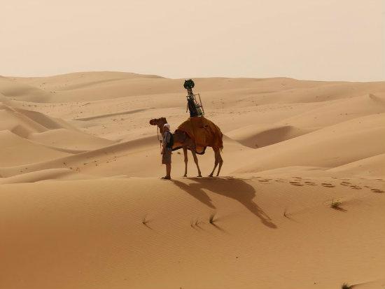 street view no deserto