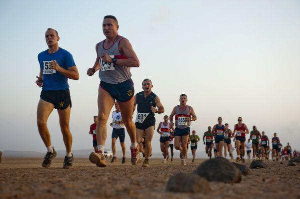 correr como maratonista