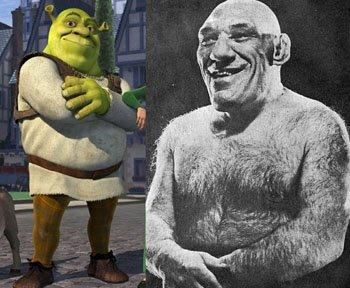 Maurice Tillet Shrek