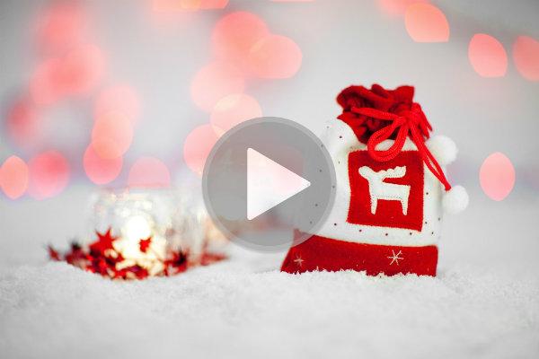 Faça vídeos natalinos