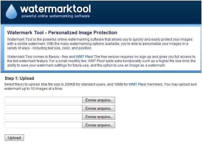 Proteja imagens