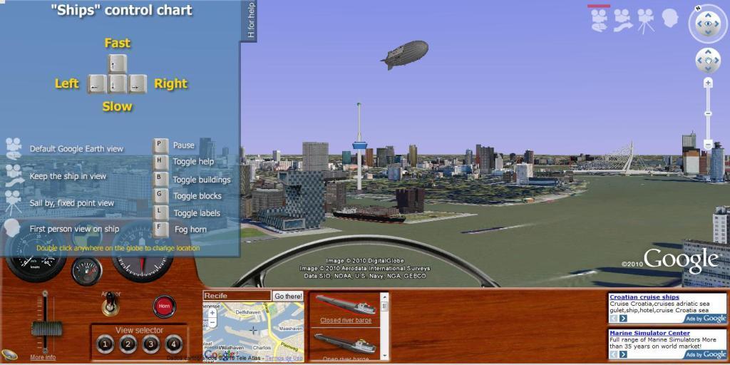 ships simulador online