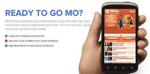 site para o universo mobile