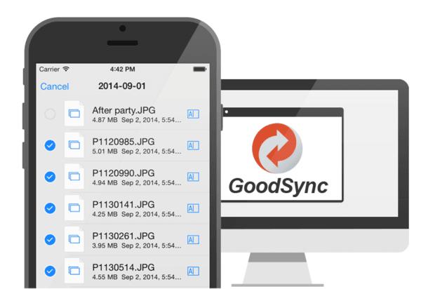 sincronize e salve arquivos