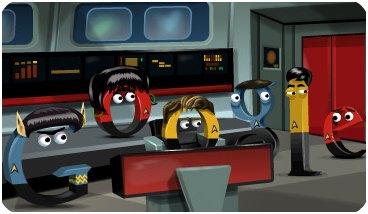 Doodle Star Trek