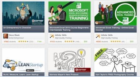 Milhares de cursos online