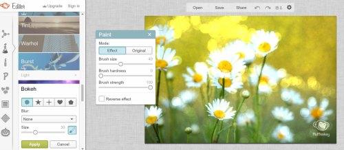 editar imagens ou fotos