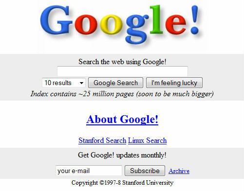 google celebra